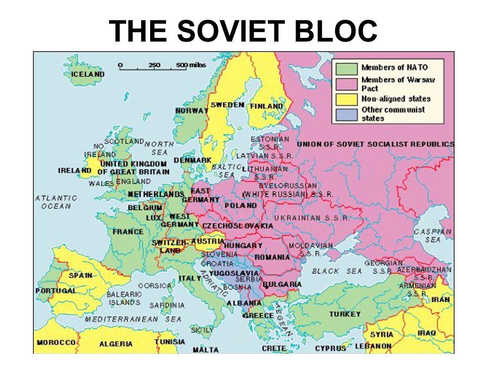 THE SOVIET BLOC