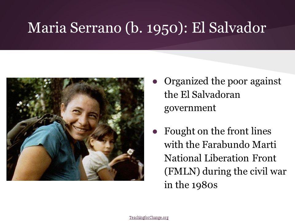 Maria Serrano (b.
