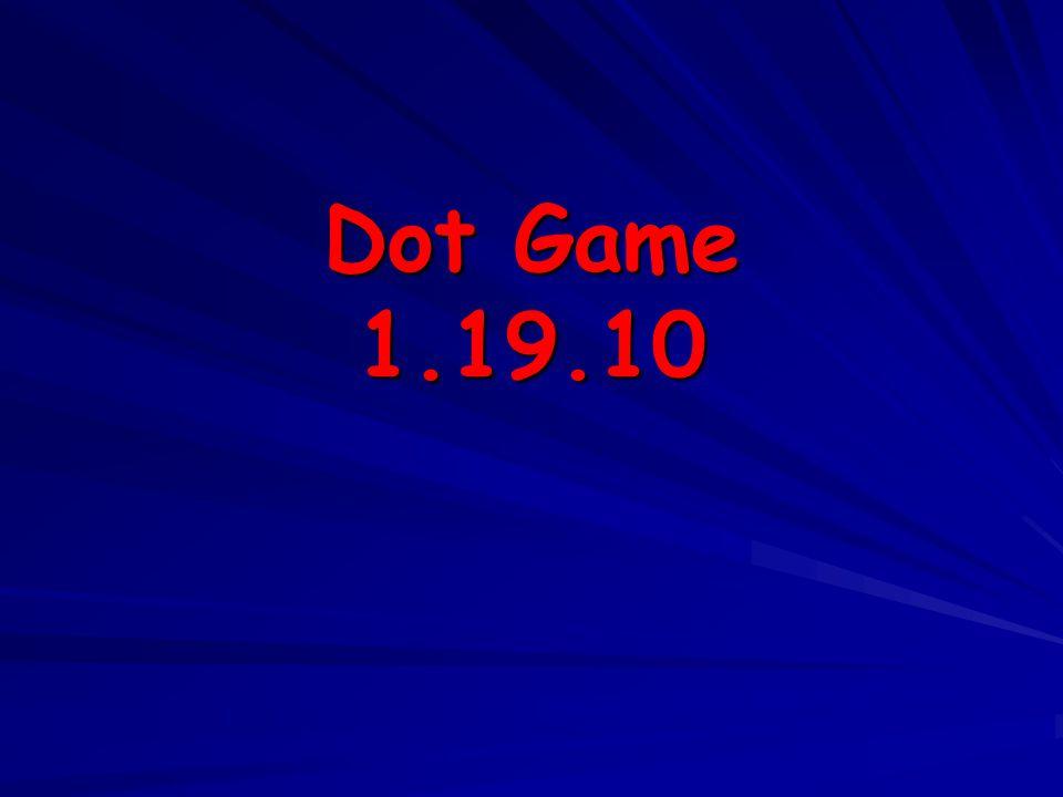 Dot Game 1.19.10