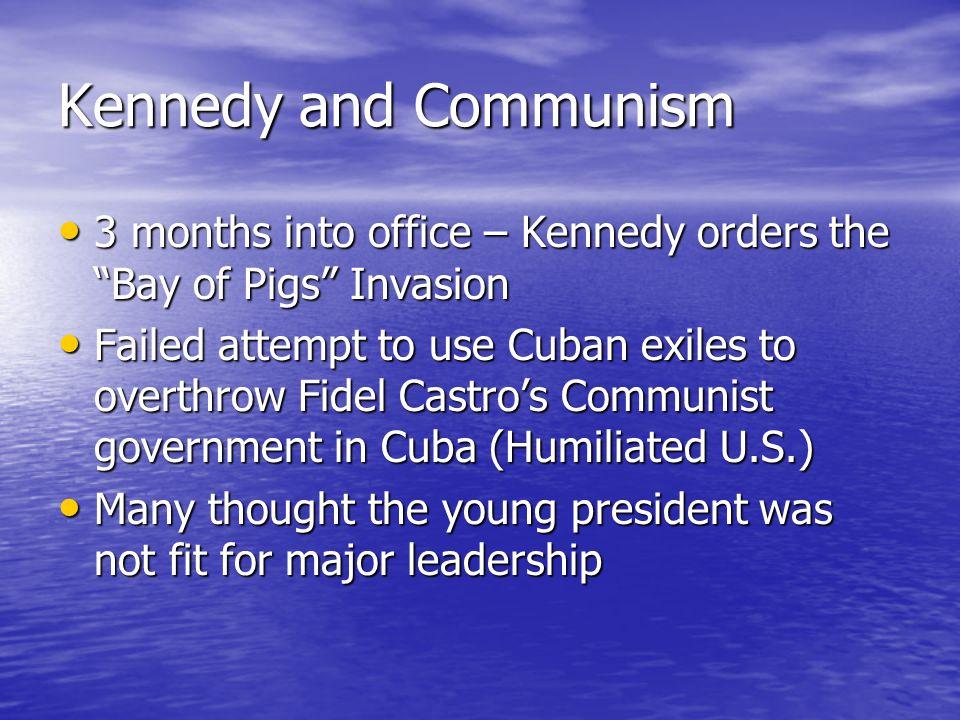 Kennedy meeting Soviet Leader Nikita Khrushchev
