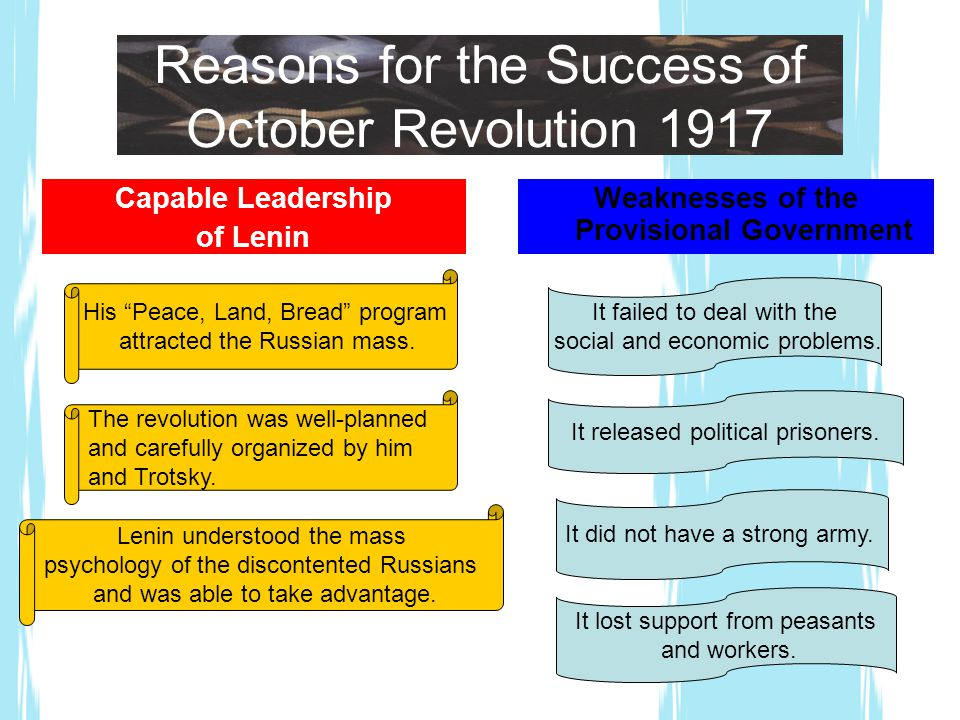 And Lenin Succeeded The October Revolution