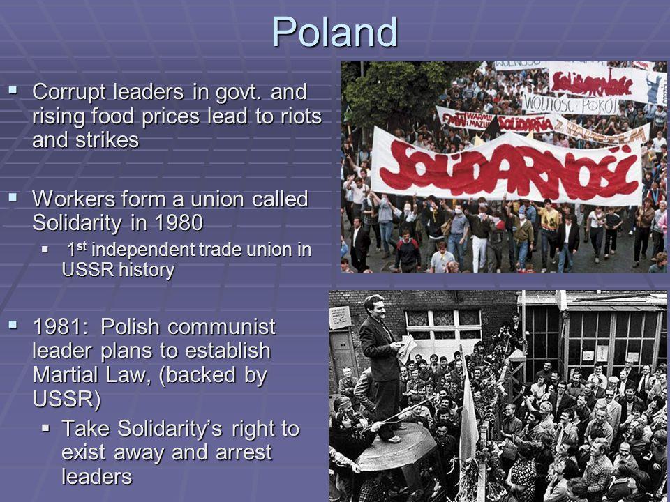Poland  Corrupt leaders in govt.