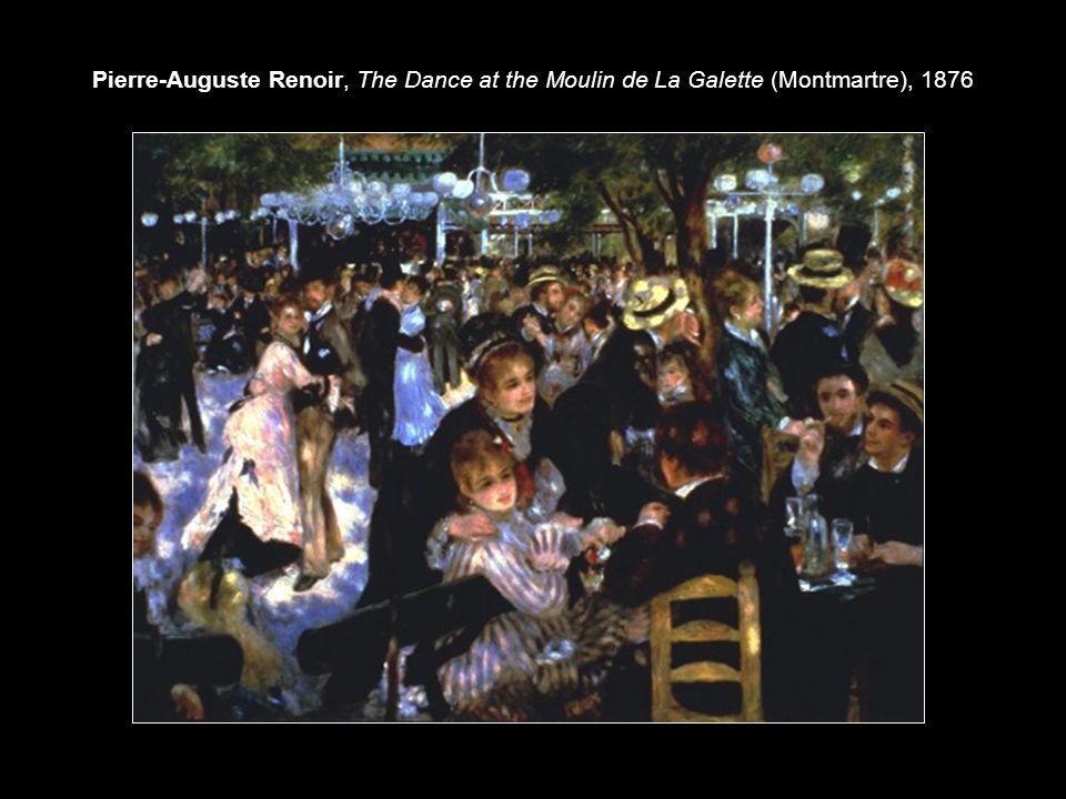 Pierre-Auguste Renoir, The Dance at the Moulin de La Galette (Montmartre), 1876