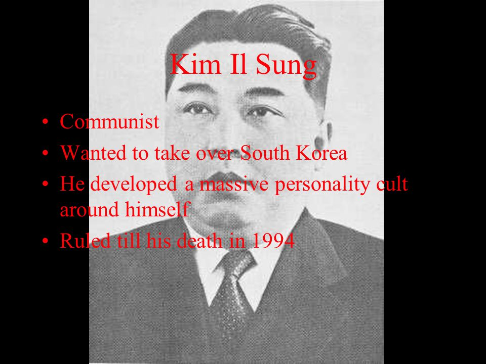 Who Were the Key Leaders in the War and What Role Did They Play? Kim Il Sung (Leader of Communist North Korea) Syngman Rhee (Leader of Capitalist Sout