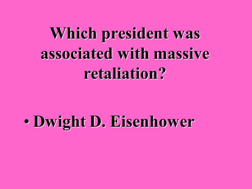 Who was president when the Korean War ended? Dwight D. EisenhowerDwight D. Eisenhower