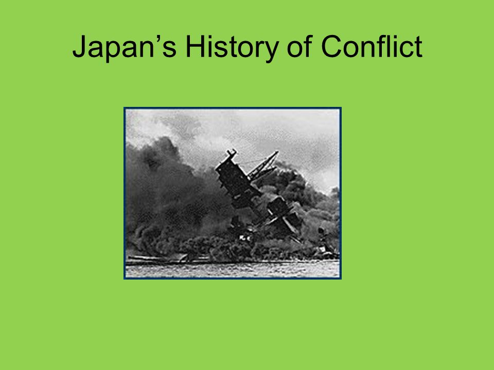 Japan's History of Conflict