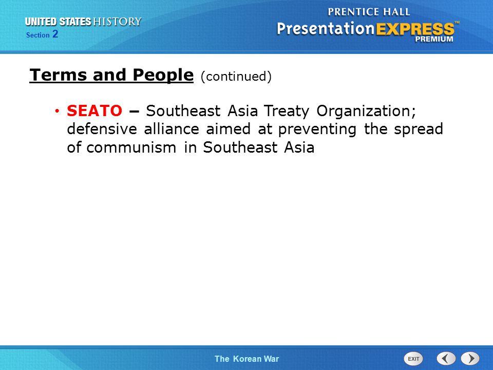 The Cold War BeginsThe Korean War Section 2 MacArthur's plan worked.