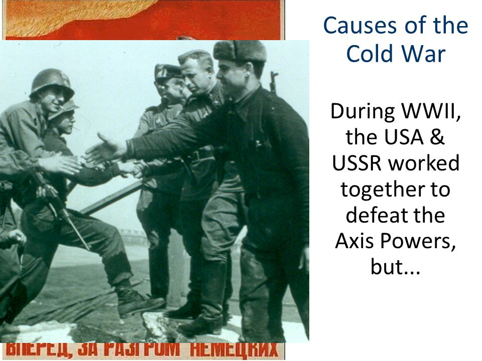 Causes of the Cold War After Lenin's death in 1924, Joseph Stalin became dictator of the USSR & started his Five Year Plans During WWII, the USA & USS