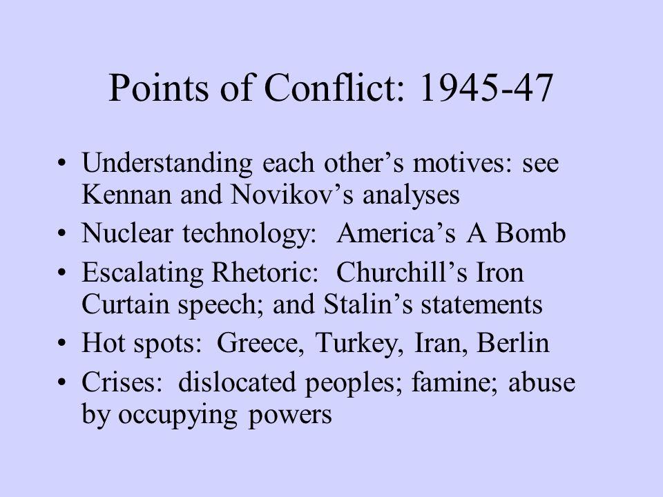 American Initiatives, 1947-1950 Truman Doctrine Marshall Plan Rearmament, peacetime draft and North Atlantic Treaty Organization (NATO) National Security State: new CIA, strengthened FBI