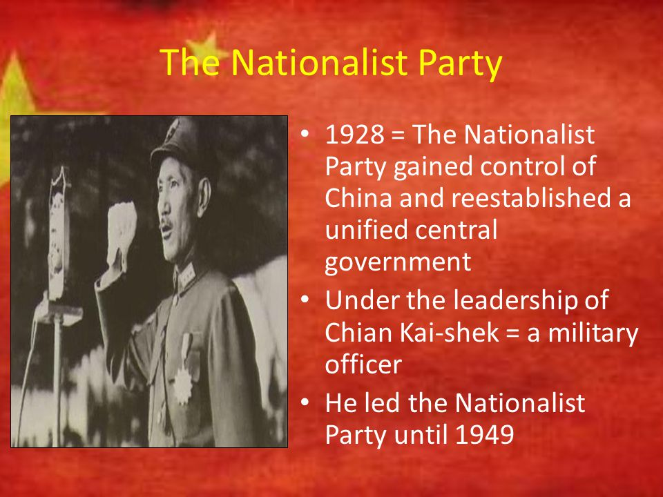 Building Socialism Communist governments in China and the Soviet Union, therefore, became totalitarian: – Other political parties forbidden – Government controlled almost the entire economy – Government ensured that the arts, education and media conformed to approved ways of thinking – Organizations for women, workers, students, and professional groups operated under party control