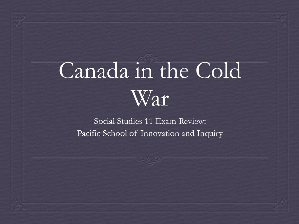 What was the Cold War. It began as soon as World War Two Ended and lasted until the early 1990s.