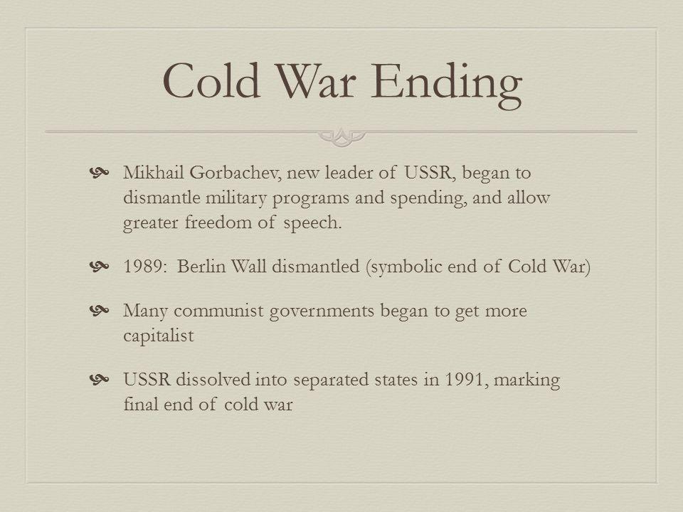 Break up of Soviet Union