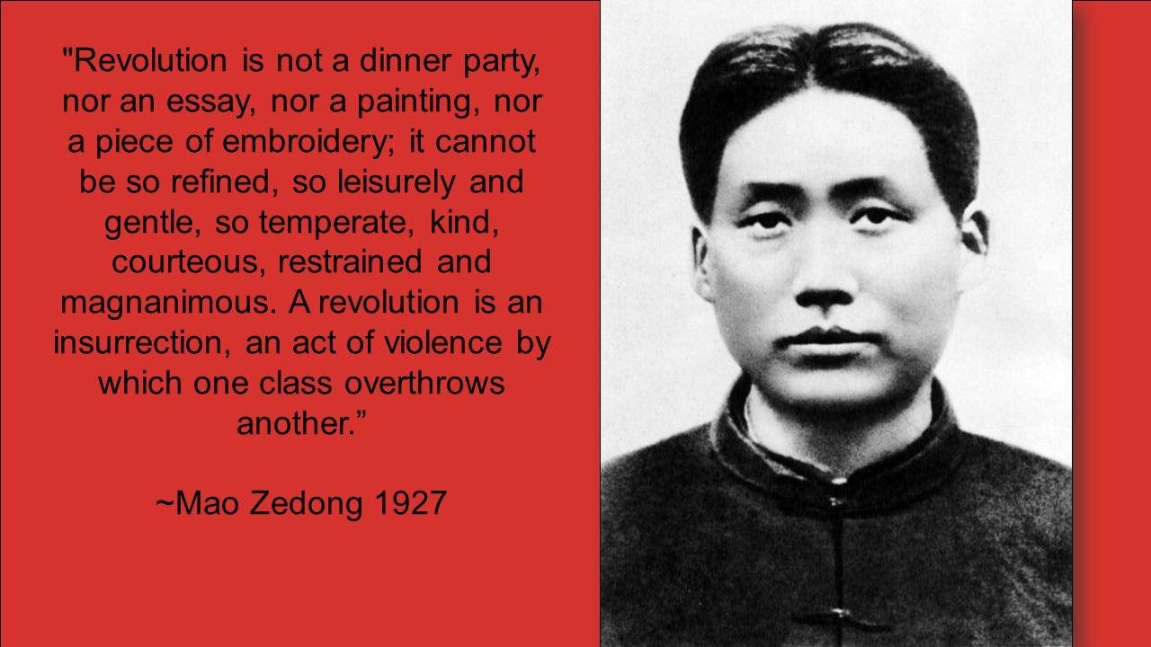Mao Zedong 1935 The Long March