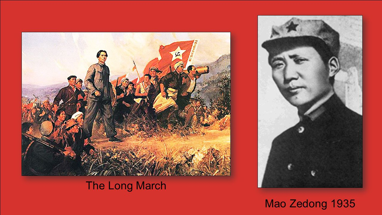 The Communists and Nationalists had to call a truce during WWII as both were fighting to keep the Japanese out of China.