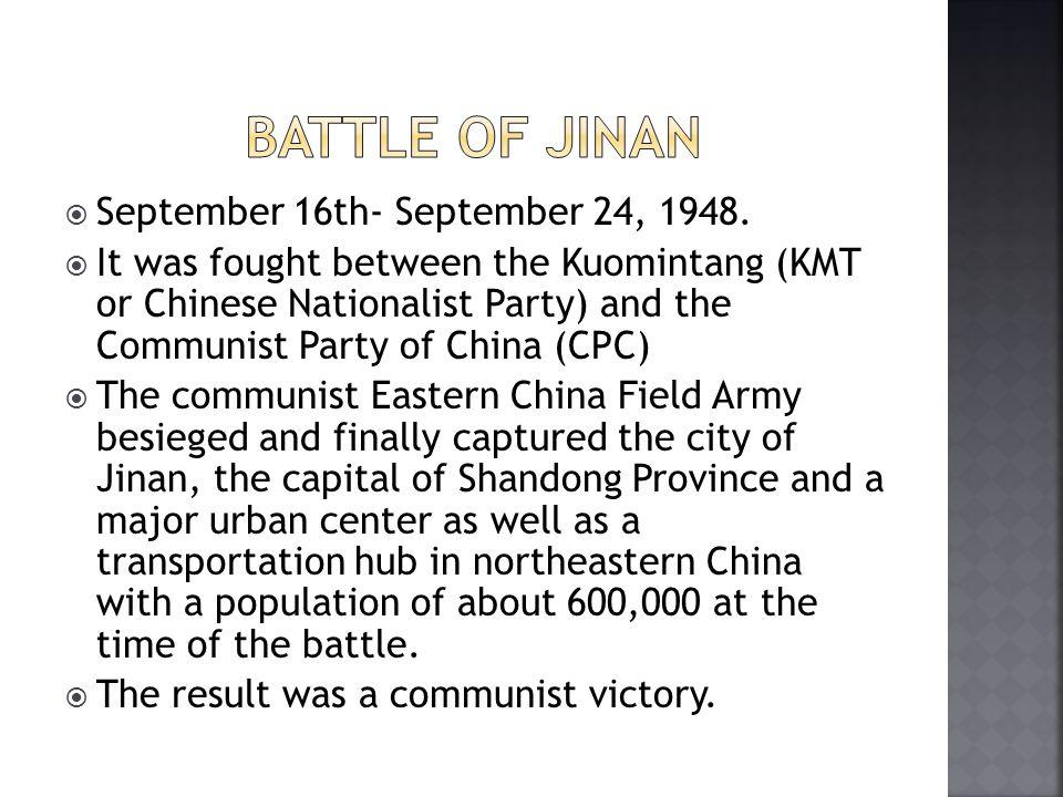  September 16th- September 24, 1948.