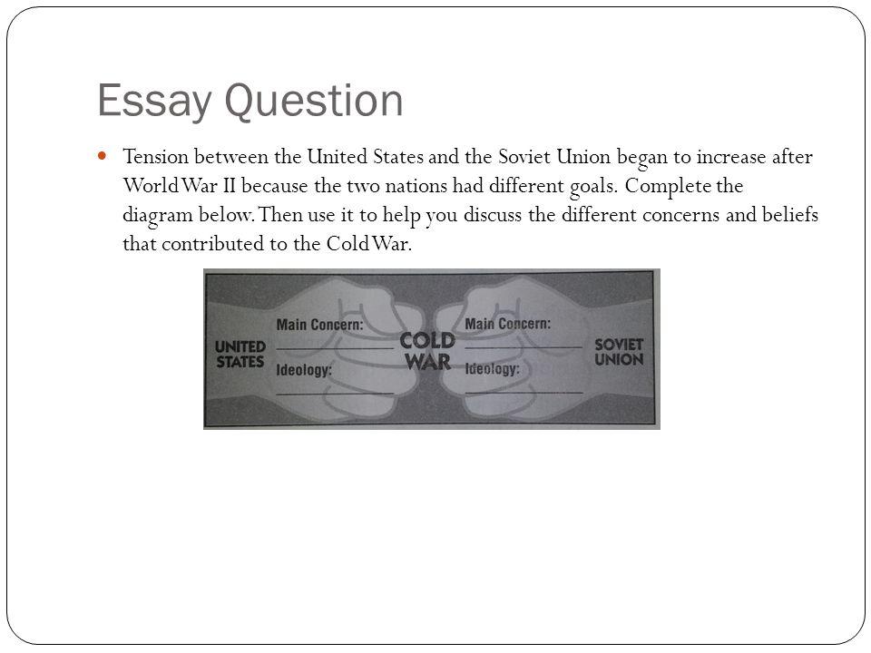 World War II essay question?