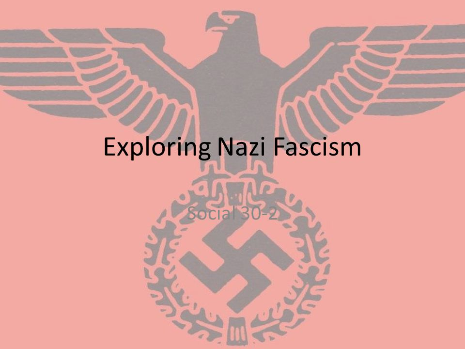 Question for Inquiry How was fascism in Nazi Germany a rejection of liberalism.