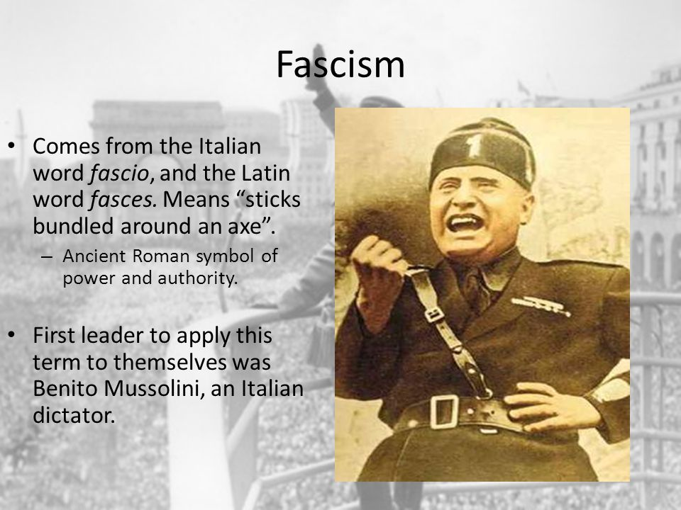 Fascism Rejected the Communist values of egalitarianism and the empowerment of the working classes.