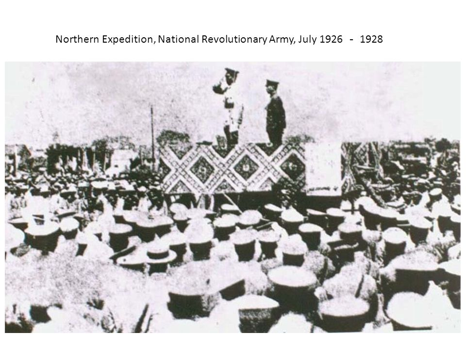 Northern Expedition, National Revolutionary Army, July 1926 - 1928