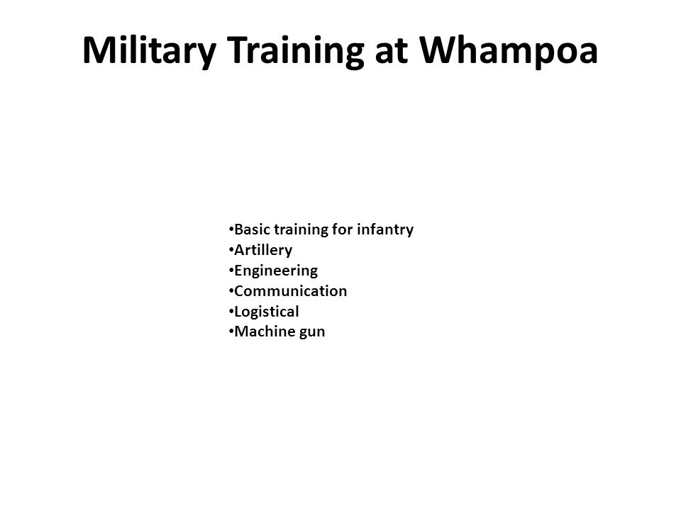 Basic training for infantry Artillery Engineering Communication Logistical Machine gun Military Training at Whampoa