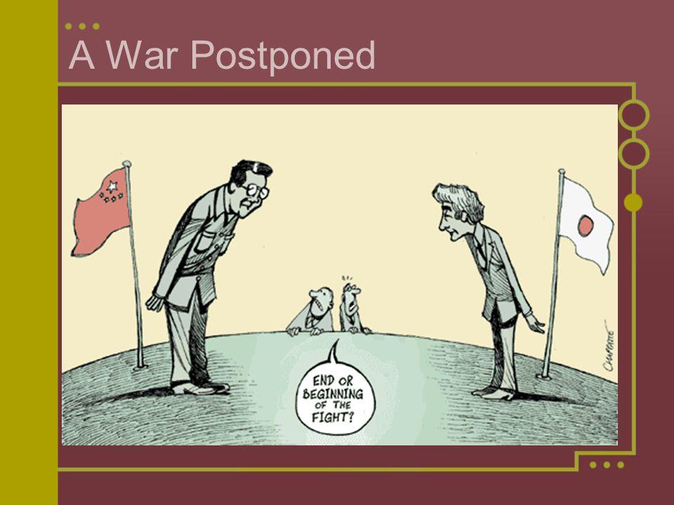 A War Postponed