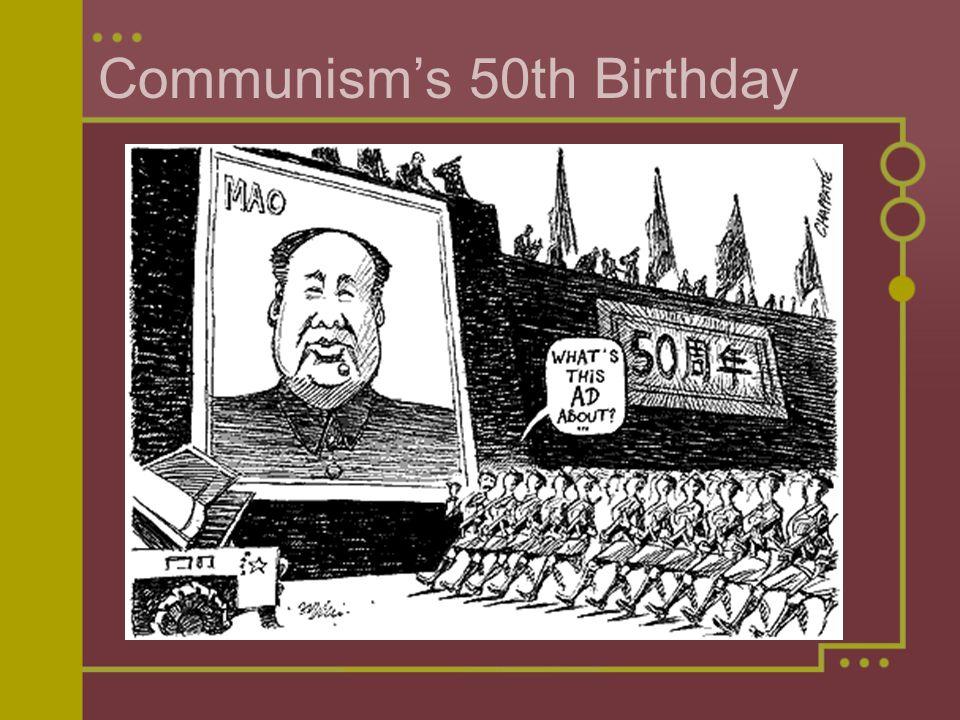 Communism's 50th Birthday
