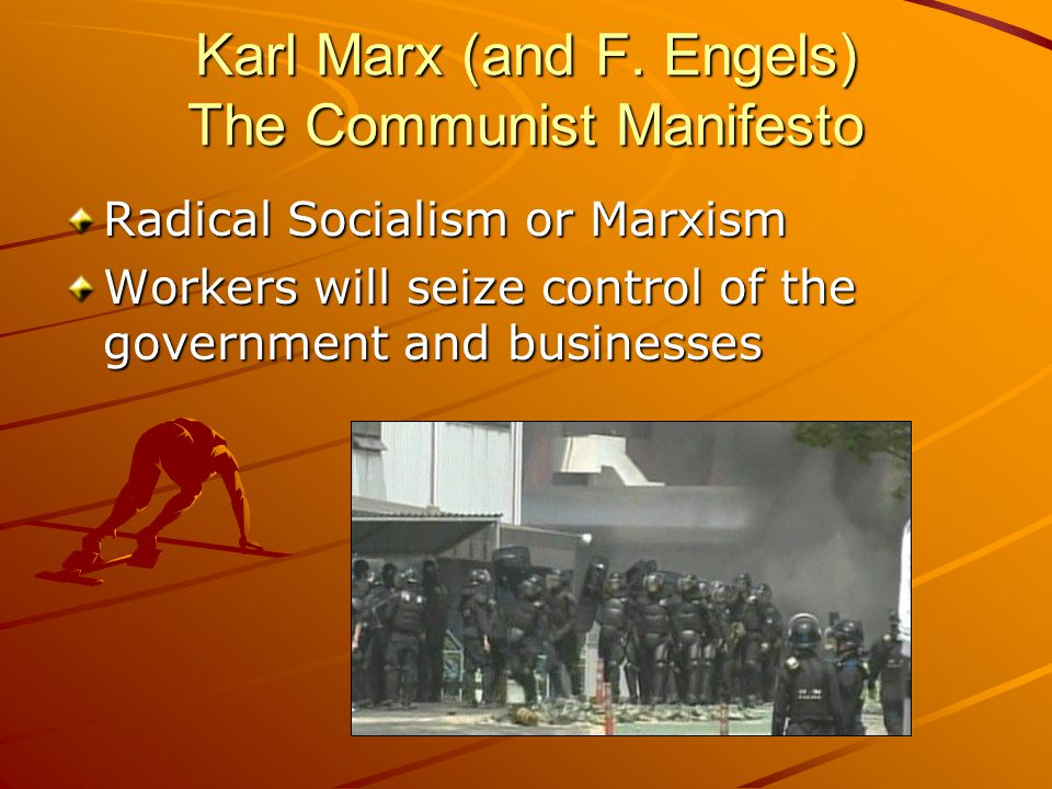 Karl Marx (and F.