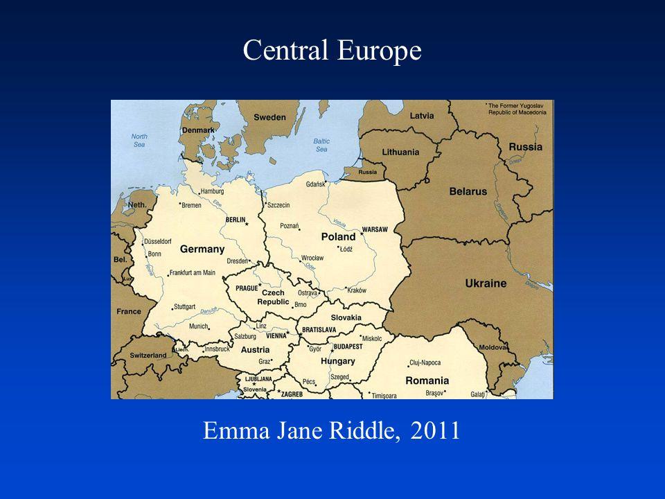 Central Europe Emma Jane Riddle, 2011