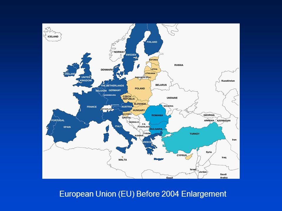 European Union (EU) Before 2004 Enlargement