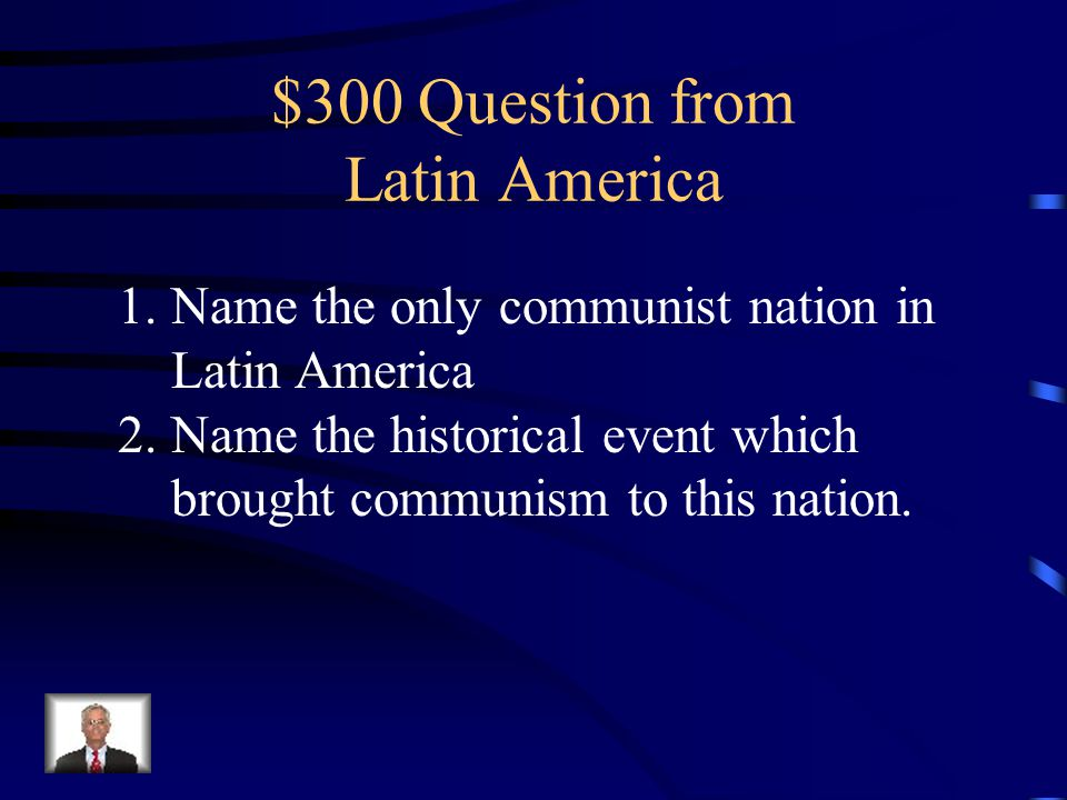 $200 Answer 1.Chile 2.Panama Canal