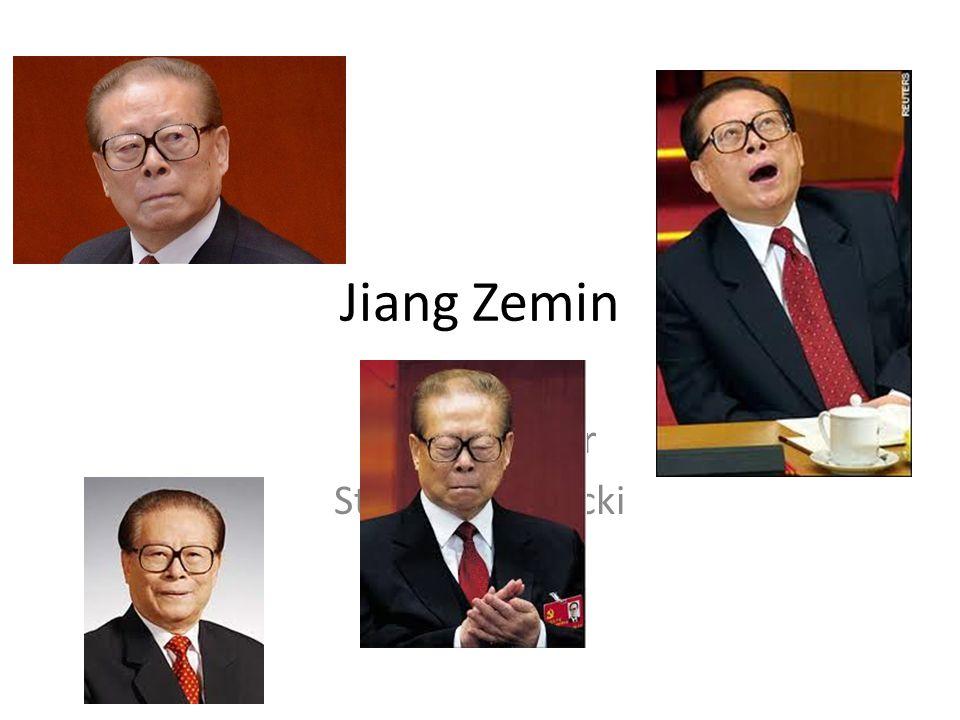 Jiang Zemin Trevor Glover Steven Brudnicki