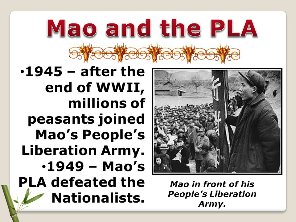 The Red Guards were to eliminate the 4 Olds: Old Ideas Old Culture Old Customs Old Habits