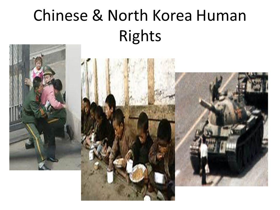 Chinese & North Korea Human Rights