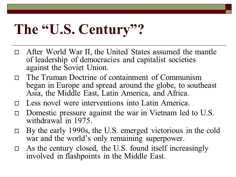 The U.S. Century .