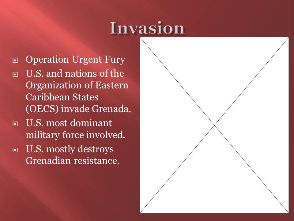  Operation Urgent Fury  U.S.