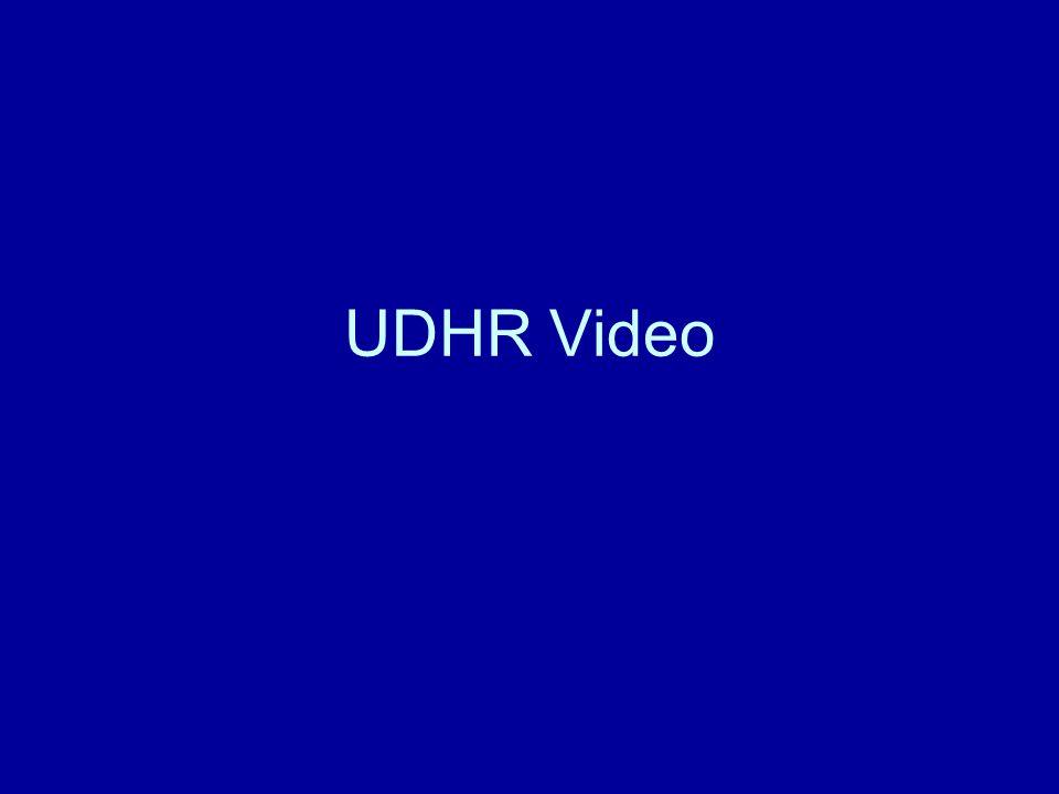 UDHR Video