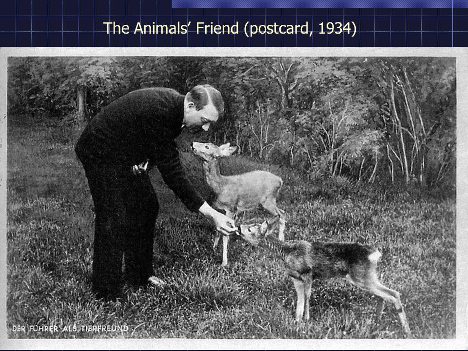 The Animals' Friend (postcard, 1934)