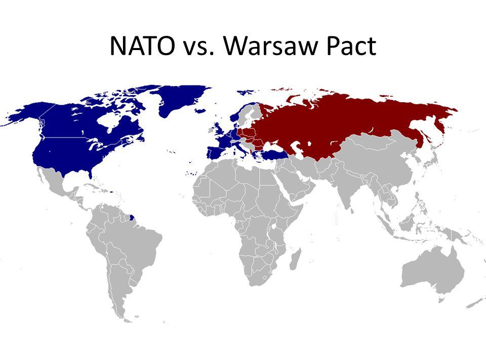 NATO vs. Warsaw Pact
