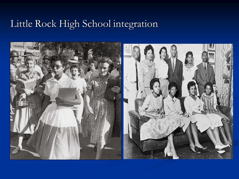 Little Rock High School integration