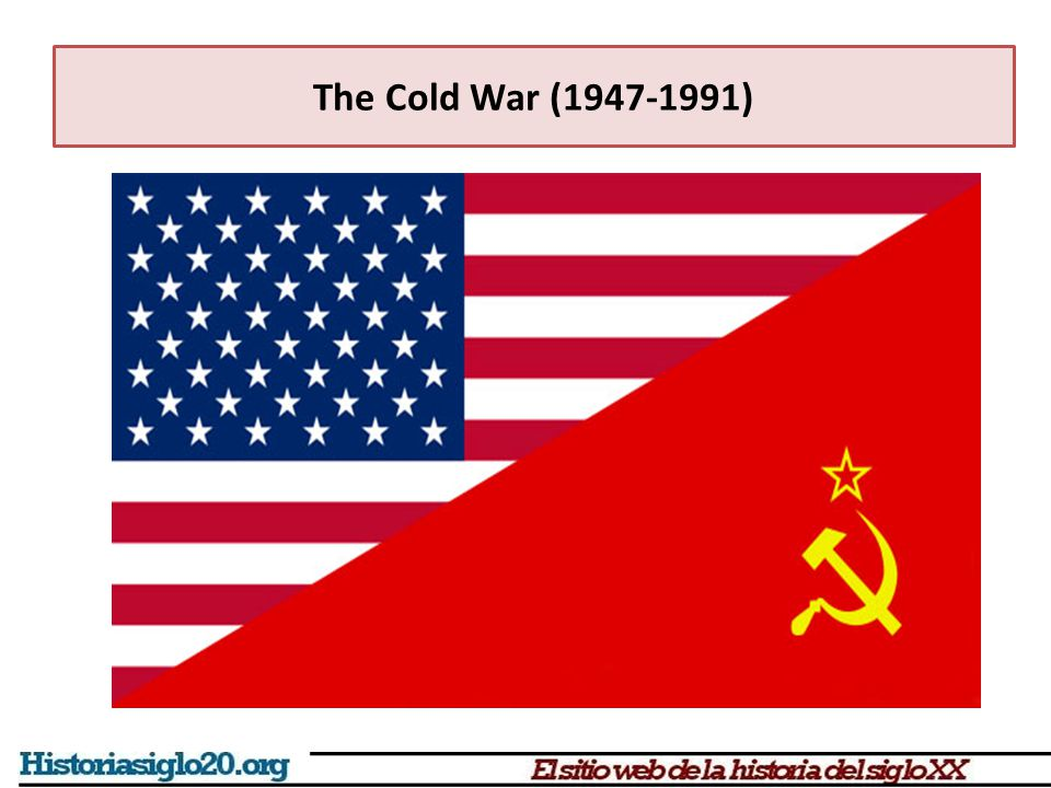 The end of the Alliance USA, Britain and USSR defeated the Axis However, their alliance started to crumble shortly, even before defeating Hitler, differences between them showed up By 1947, the Cold War had started