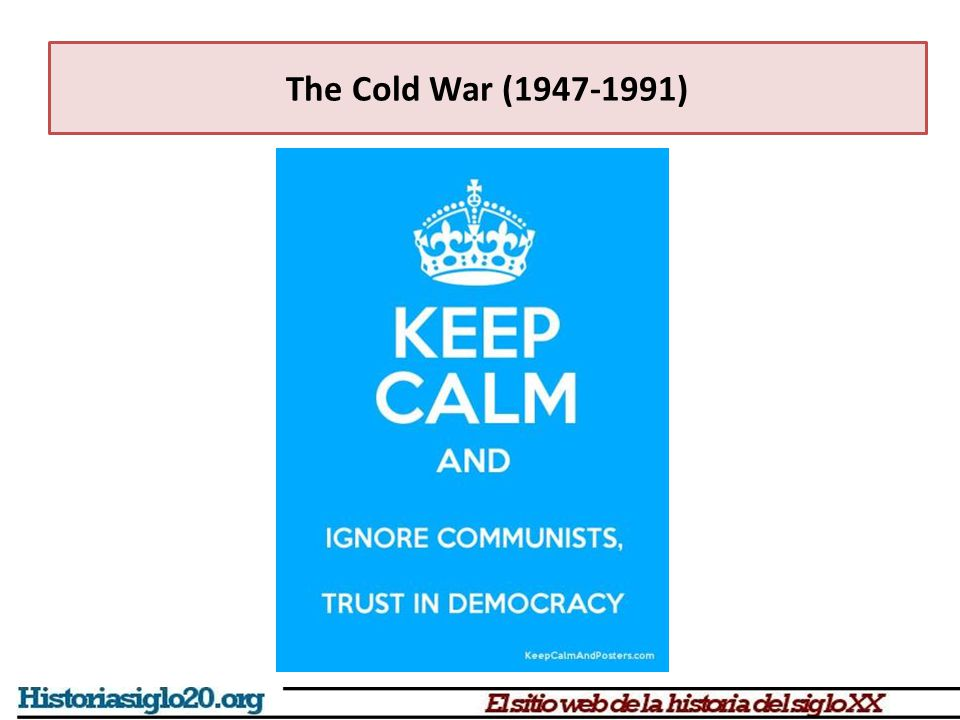 The Cold War (1947-1991) The world divided into two blocks 1945-1955 Germany and Berlin: four occupation zones (UK, US, Fr.