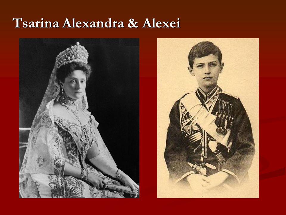 Tsarina Alexandra & Alexei