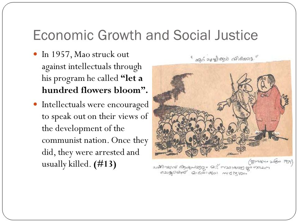 The Great Leap Forward (#14) In 1958, to restore a dying revolution, Mao instituted the Great Leap Forward.