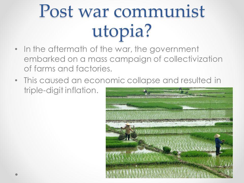 Post war communist utopia.