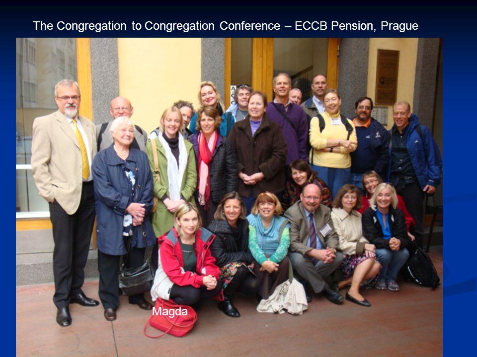 The Congregation to Congregation Conference – ECCB Pension, Prague Magda