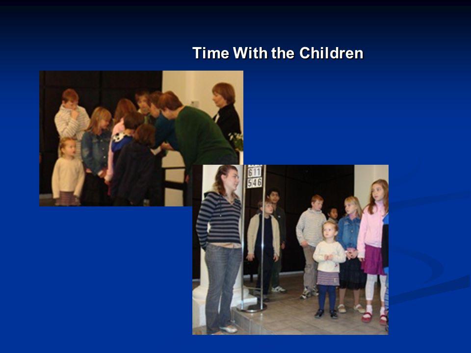 Time With the Children Time With the Children