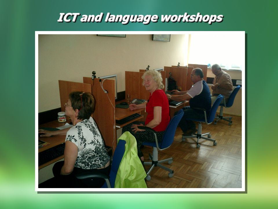 ICT and language workshops