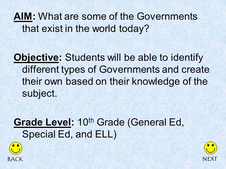 4.A Representative Democracy is: AA.