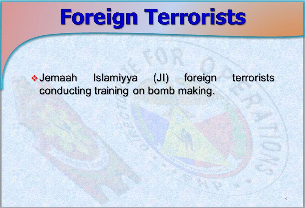 Internal Security Concerns 9