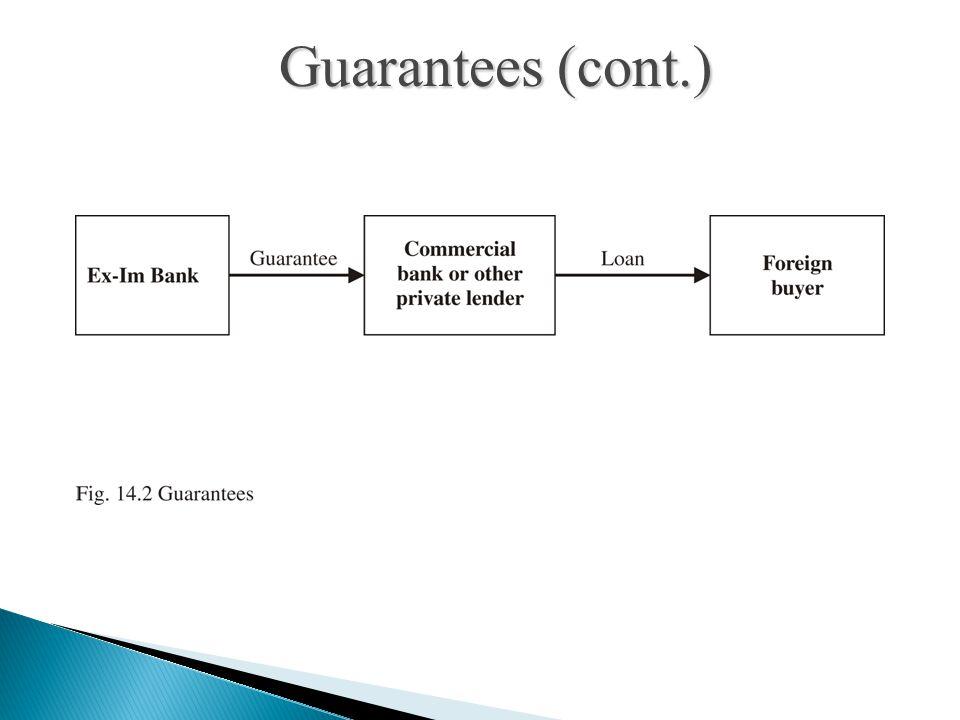 Guarantees (cont.)